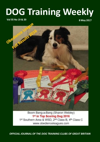 DTW Vol 55 Issue 19 & 20 Obedience League Results (FC)